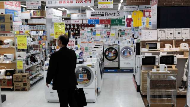 日本宅經濟旺!去年白色家電出貨額創24年來新高 (圖片:AFP)