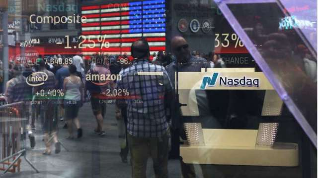 〈美股早盤〉科技股財報本周起跑 美股漲跌不一、蘋果領那指衝高 (圖:AFP)