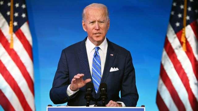 白宮:拜登將以耐心處理美中關係 審視貿易關稅和中企下市政策 (圖:AFP)