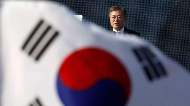 南韓去年GDP負成長22年來首見 疫情造成消費不振 (圖片:AFP)