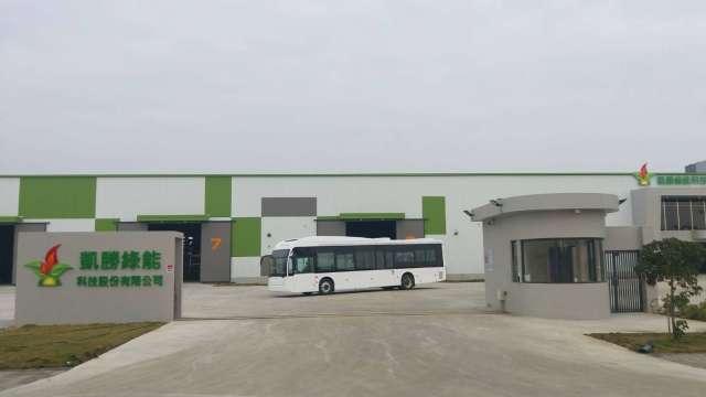 新營客運訂購凱勝綠能7台K9DA電動大巴,推動台南無碳交通邁向新里程碑。(圖:業者提供)