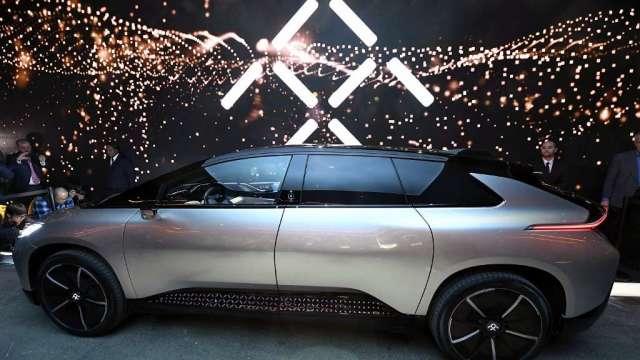法拉第未來、吉利傳談合作 將在中國設廠生產電動車(圖:AFP)