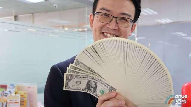搶年終獎金理財商機  銀行推台外幣優利存款年息至少1%。(鉅亨網資料照)