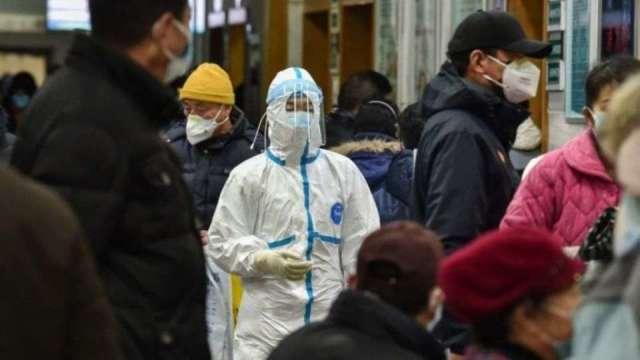 疫情升溫示意圖。(圖:AFP)