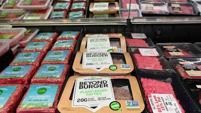 超越肉類將與百事合作開發植物性零食、飲料 (圖:AFP)