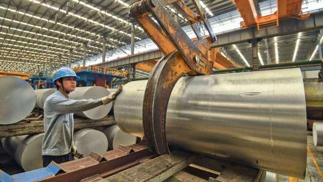 美國鋁捲板1月中再漲5%,大成鋼營運看俏。(鉅亨網資料照)