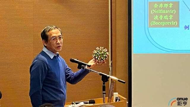 中研院基因體研究中心主任洪上程。(鉅亨網記者沈筱禎攝)