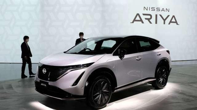 Nissan宣布2030年代初期開始 主要市場的新產品都將是電動車 (圖片:AFP)