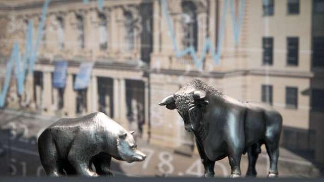 歐股早盤走弱 IMF稱歐洲復甦弱於中美(圖:AFP)