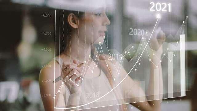 台股利多連連 投資ETF連結基金成贏家。(圖:AFP)
