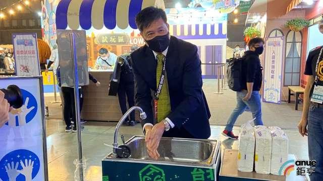 台北市電腦公會理事長暨友達董事長彭双浪。(鉅亨網記者劉韋廷攝)