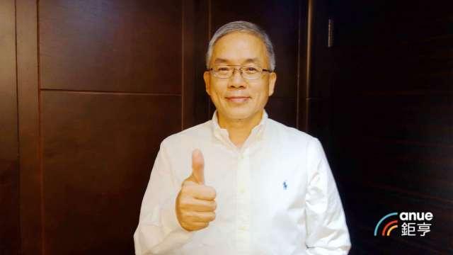 騰輝-KY董事長勞開陸。(鉅亨網記者張欽發攝)