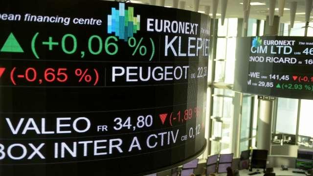 美股拋售潮蔓延 歐股盤中一度挫逾2% 抹去年內漲幅 (圖:AFP)
