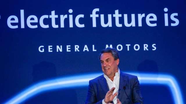 通用汽車宣告2035年全面轉向生產電動汽車。(圖片:AFP)