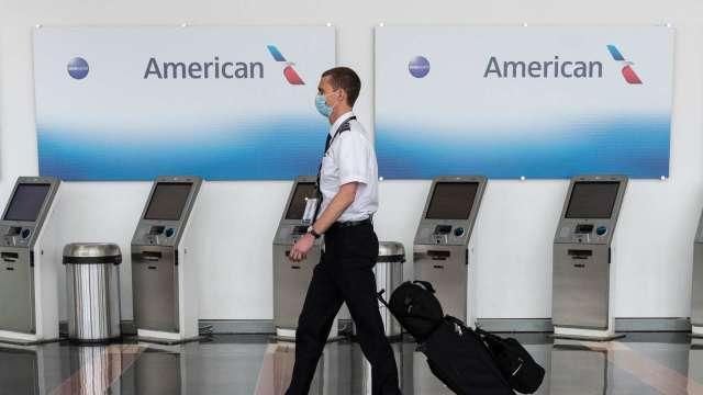 Reddit 散戶轉向另一檔嚴重做空股票 美國航空一度飆升31%。(圖片:AFP)