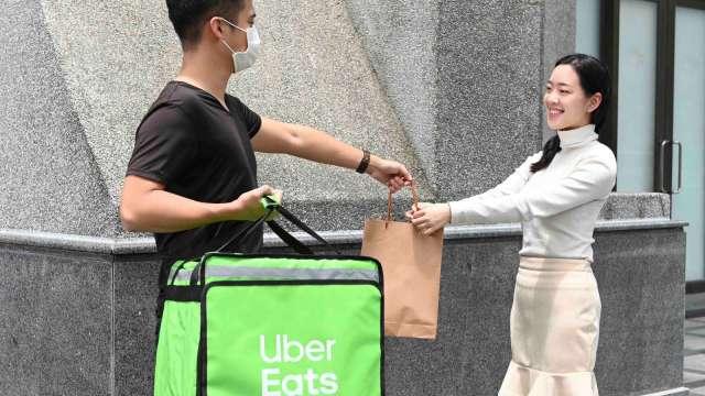 Uber Eats宣布落地台灣。(圖:Uber Eats提供)