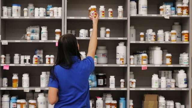 松瑞藥新藥獲美FDA受理送件,力拚在美上市。(圖:AFP)