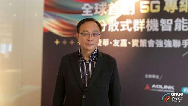 凌華董事長劉鈞。(鉅亨網資料照)