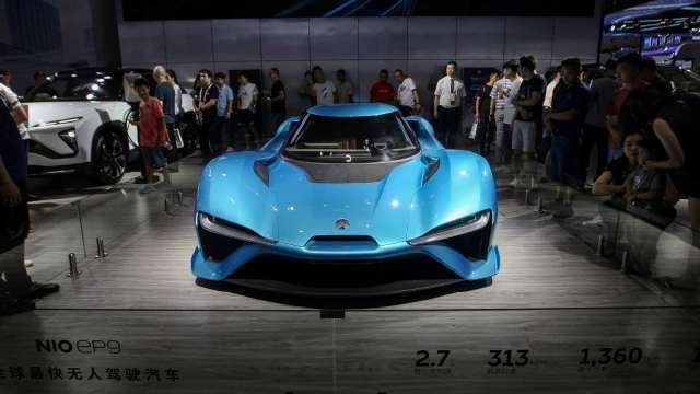 電動車夯!蔚來1月交付7225輛 年成長352% 連6季創新高交付量紀錄 (圖片:AFP)