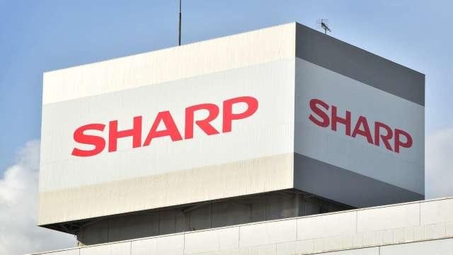 夏普白山工廠展開運作 將整合面板生產 (圖片:AFP)