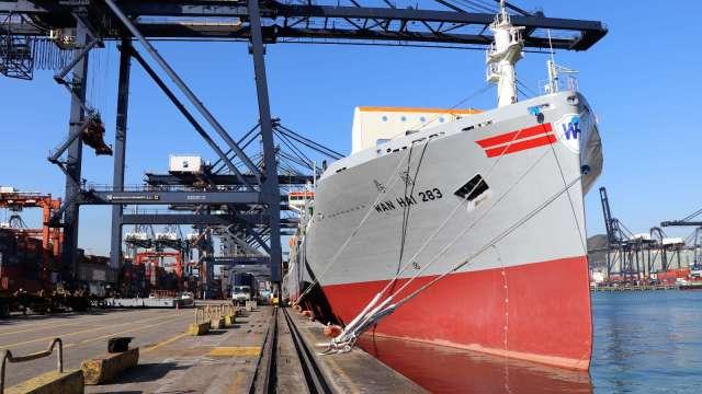萬海今年將迎來10艘新船舶。(圖:萬海提供)