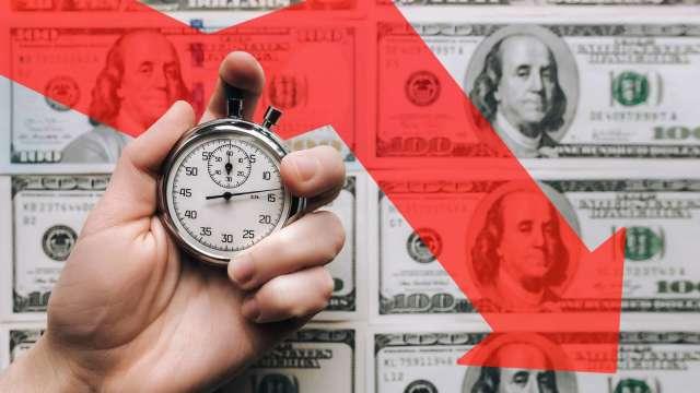 美元下跌 有可能三重獲利嗎?(圖:shutterstock)