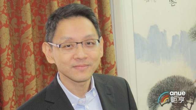 瀚宇博及精成科董事長焦佑衡。(鉅亨網記者張欽發攝)