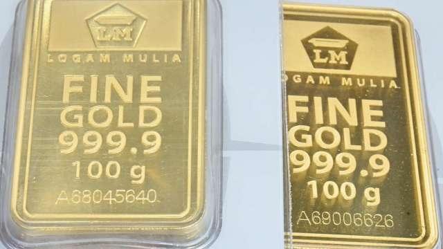 說好的長期看漲呢?黃金邁向死亡交叉!(圖片:AFP)