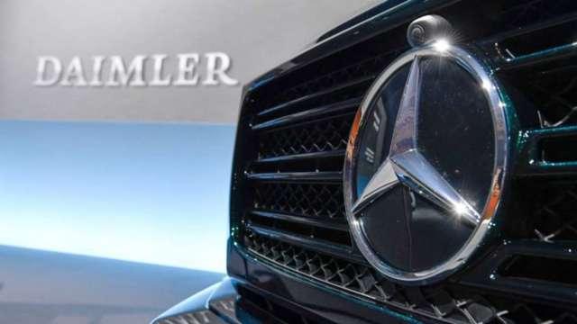 戴姆勒分拆卡車業務、更名Mercedes-Benz 股價飛漲近9% (圖:AFP)