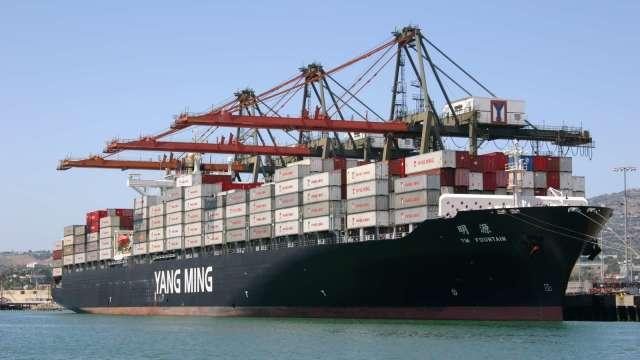 貨櫃海運後市持續受法人圈看好。(圖:陽明提供)