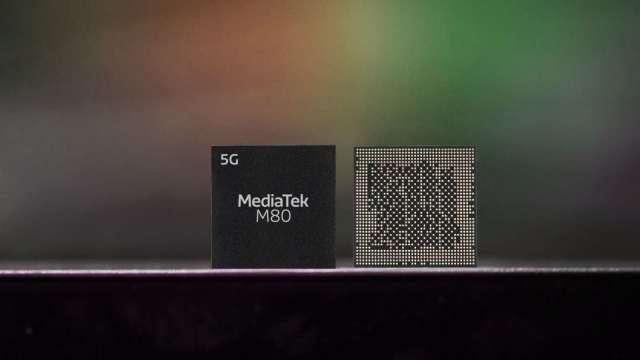 聯發科首顆支援5G毫米波Modem M80。(圖:業者提供)