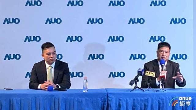 友達董事長彭双浪(右)、總經理柯富仁(左)。(鉅亨網資料照)
