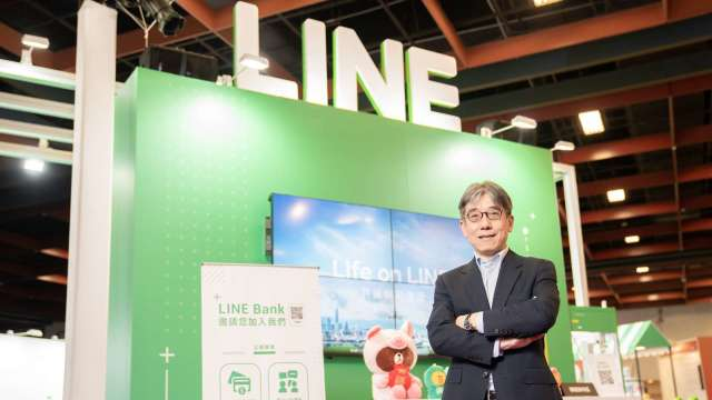 LINE Bank總經理⿈以孟。(圖:LINE Bank提供)