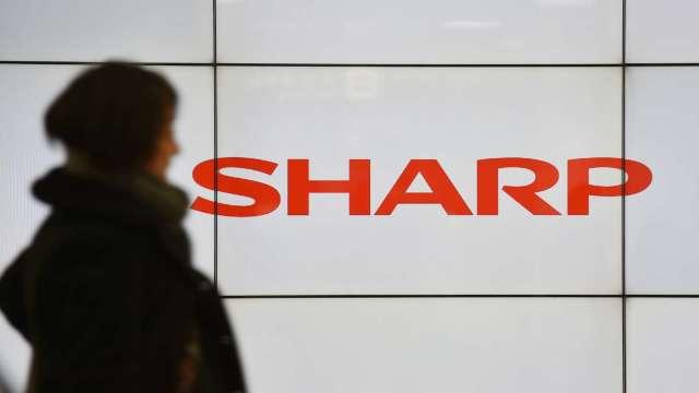 夏普宣布C類特別股已全部註銷、財報可能延後公布 (圖片:AFP)