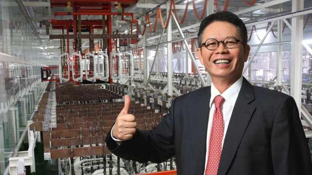 東陽集團總裁吳永祥。(圖:東陽提供)