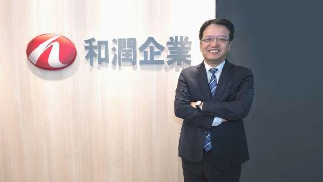 和潤企業總經理林彥良。(圖:和潤提供)