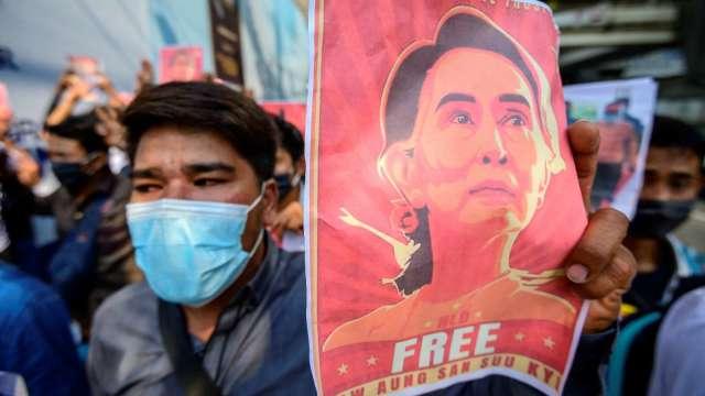 〈緬甸政變〉紐西蘭開第一槍 中斷政治、軍事交流 (圖片:AFP)