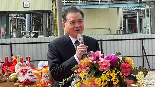 中石化董事長陳瑞隆。(圖:中石化提供)