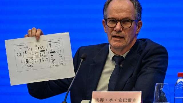 世衛赴武漢調查:病毒起源於實驗室極不可能。(圖片:AFP)