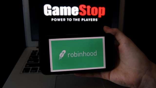 GameStop仍經歷巨大波動 股價已近50美元。(圖片:AFP)