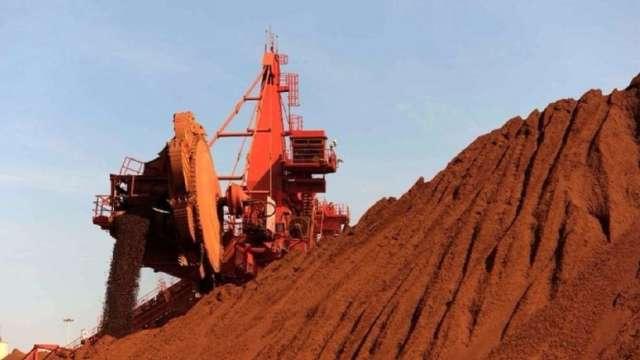 鐵礦砂行情好!BHP上半年獲利七年最高 中國基建熱潮帶旺前景 (圖:AFP)