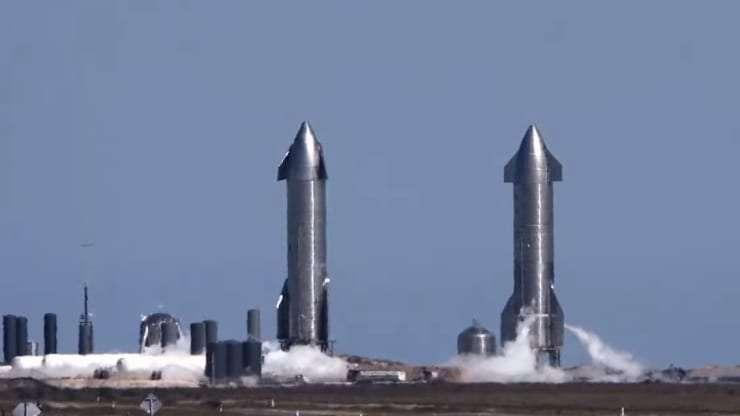 Starship 原型機試飛(圖:SpaceX )