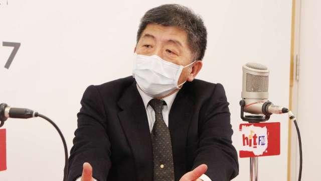 中央流行疫情指揮中心指揮官陳時中。圖:Hit Fm《周玉蔻嗆新聞》製作單位提供