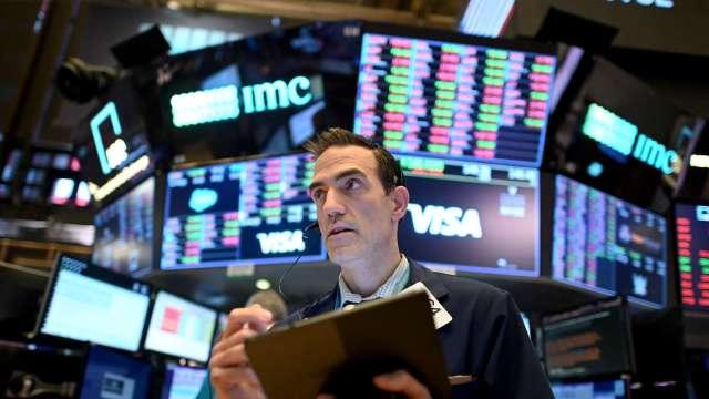 花旗:美股將回調10%的可能性非常大(圖片:AFP)