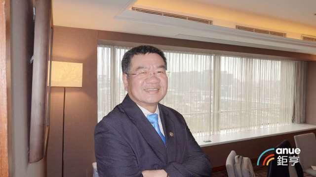 邑昇董事長簡榮坤。(鉅亨網記者張欽發攝)