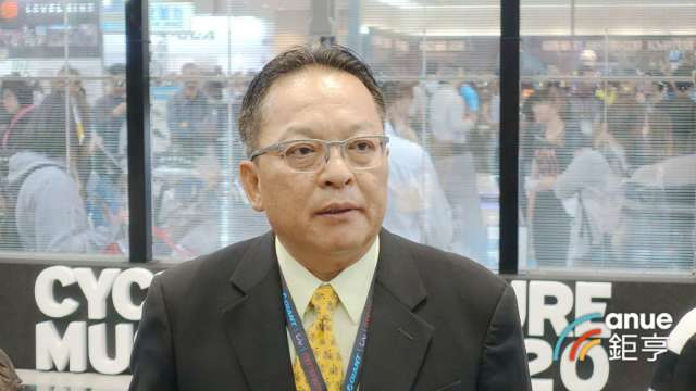 巨大執行長劉湧昌。(鉅亨網記者張欽發攝)