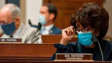 GameStop聽證會議員砲火猛攻 眾院金融服務委員會主席Maxine Waters:我們的調查還未結束 (圖:AFP)