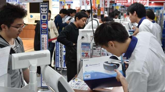 日本1月核心CPI年減0.6% 連續6個月下滑 (圖片:AFP)