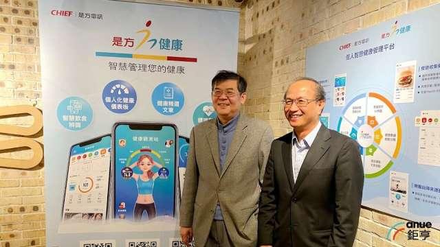 左為是方董事長吳彥宏、右為總經理總經理劉耀元。(鉅亨網資料照)