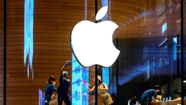 彭博:蘋果與多家LiDAR感測器供應商洽談。(圖片:AFP)